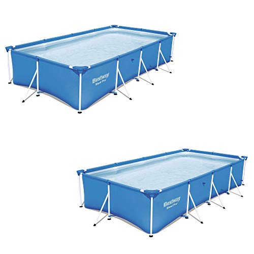 7 x 83 x 32 Rectangular Frame Above Ground Pool (2 Pack) ()
