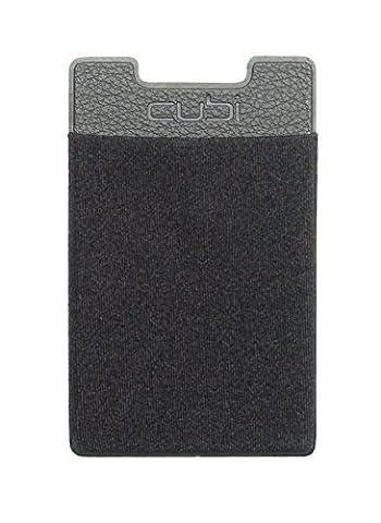 CardNinja Ultra-slim Self Adhesive Credit Card Wallet for Smartphones, Black (Nexus 6 Cell Phone Case)