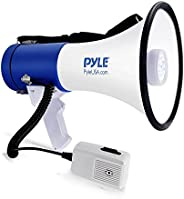 Pyle PMP51LT Portable Compact PA Megaphone Speaker, Black
