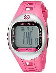 Soleus Unisex SF001-611 Tempo Digital Display Quartz Pink Watch