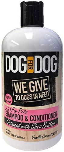 DOG Pet Oatmeal Shampoo Conditioner product image