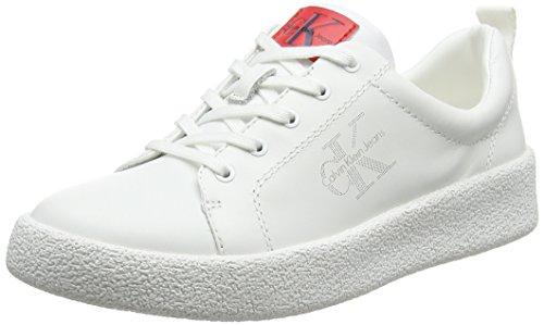 Gabri para 000 Wht Zapatillas Klein Calvin Nappa Mujer Blanco Jeans AHq7R7wxpE
