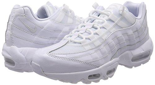 Para 108 De Max white 95 Nike Mujer Gimnasia white Zapatillas Air white Blanco Wmns XOqXxZ0