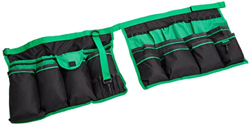 Apollo Precision Tools DT0825 Garden Tool Organizer, Black/Green, 5-Gallon Bucket