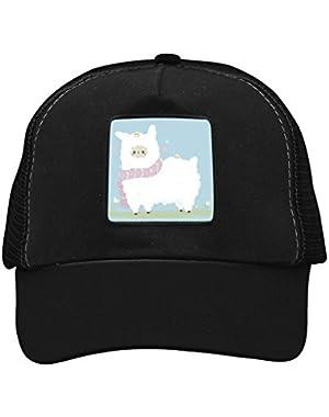 Unisex Cute Llama Alpaca Adjustable Classic Hiphop Hat Baseball Cap Snapback Dad Hat