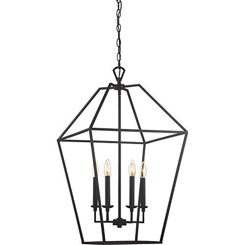 - Quoizel AVY5206PN Aviary Lantern Foyer Pendant Lighting, 6-Light, 360 Watts, Palladian Bronze (32