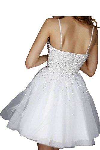 Promgirl House Robe de soirée pour femme, ligne populaire, robe de cocktail avec perles, robe courte -  vert - 34