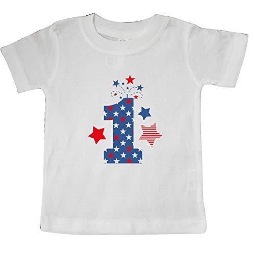inktastic - Firecracker 1st Birthday Baby T-Shirt 18 Months White 35b42