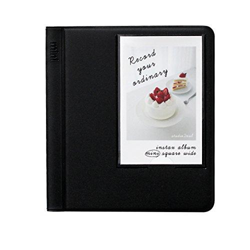 2NUL Fujifilm Instax Instant Camera Mini Photo Album (Black)