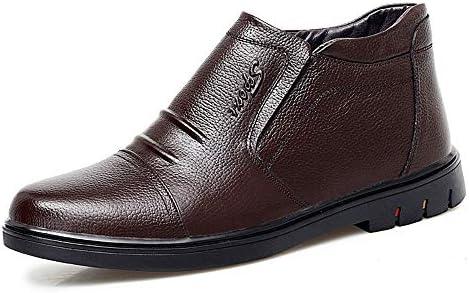 古典的な快適で便利なハイトップフリース並ぶブーツメンズファッションアンクルブーツカジュアル 快適な男性のために設計