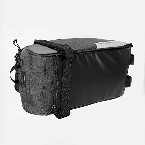 AUSTY 35L Multifunctional Bicycle Rear Seat Bag Outdoor Cycling Bike Rack Seat Bag Rear Trunk Pannier Backseat Bag Handbag Shoulder Bag by AUSTY (Image #3)
