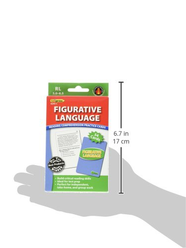 Reading Comprehension Practice Cards, Figurative Language, Green Level (EP63411) Photo #3