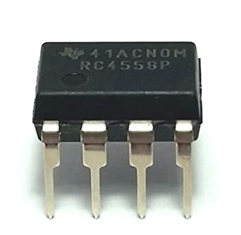 Texas Instruments RC4558P IC Operational Amplifier (Pack of 12)