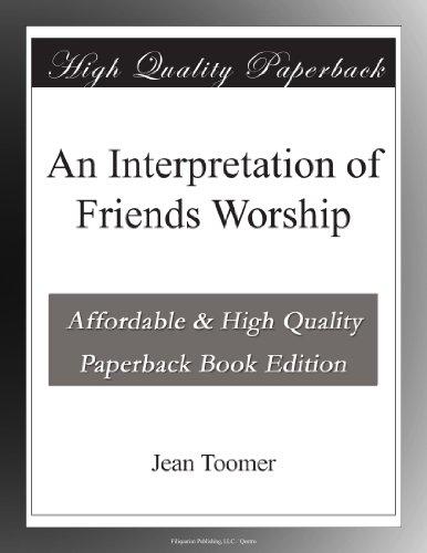 Books : An Interpretation of Friends Worship