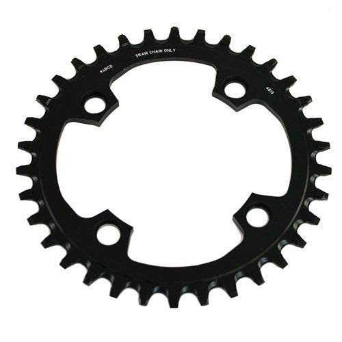 and 11-Speed SRAM SRAM X-Sync 38 Tooth 94mm BCD 4-Bolt Chainring fits 10