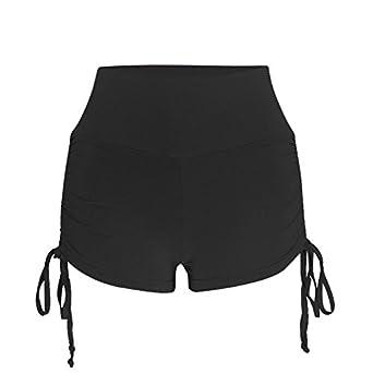 OVINEE Pantalones Cortos Mujer Deportivos Cinturones de ...
