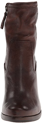 Frye Patty Zip Artisan Dark 76982 Bootie Brown Women's qAPAxv
