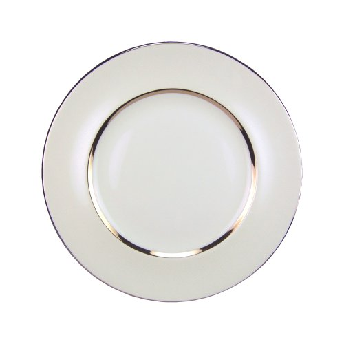 Royal Doulton Platinum Silk - Royal Doulton Platinum Silk 10-1/2-inch Dinner Plate