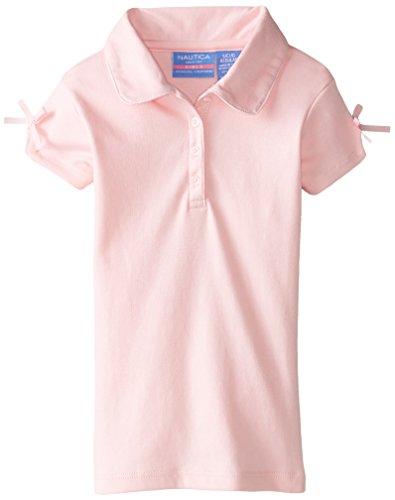 Nautica Girls Uniform Sleeve Interlock