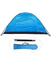 Barraca de acampamento, barraca à prova d'água para lazer de uma pessoa ao ar livre, barraca de proteção solar à prova d'água, design de claraboia adequado para acampamento, escalada, pesca