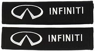 Infiniti Seat Belt Shoulder Pad - one pair (B0096EFVBO