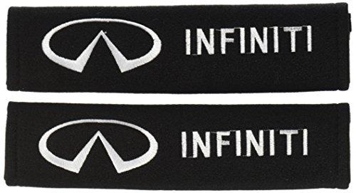 Infiniti Seat Belt Shoulder Pad - one pair (Types Seat Belt Pad)