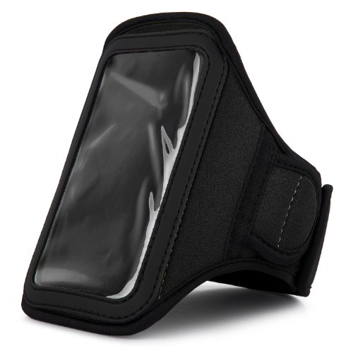 VanGoddy Hands-free Black Armband for Samsung Galaxy A3 , A5 Android / Z1 , Z2 Tizen by Vangoddy