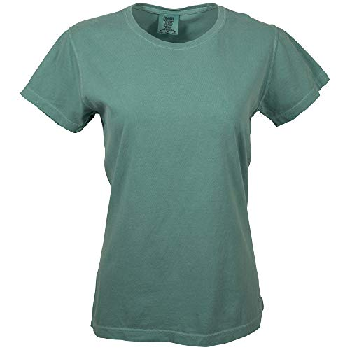 Comfort Colors Women's Short Sleeve Tee, Style 3333, Seafoam, X-Large