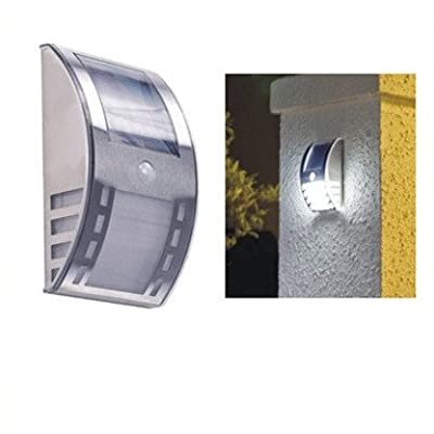 Lampe Led Murale Solaire Eclairage Extérieur Avec Détecteur De