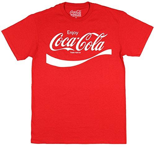 [Coca Cola Classic Coke Men's Red T-shirt M] (Coca Cola Dress)