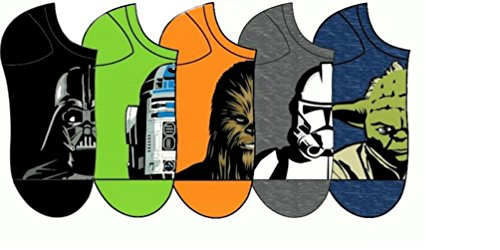 Star Wars Assted No Show Socks