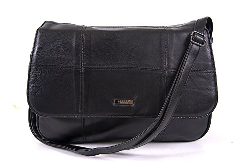 black shoulder sheep 23cm bag nappa leather 32cm Depth real 10cm Width 1979 Height Lorenz qTIAwSOfxO