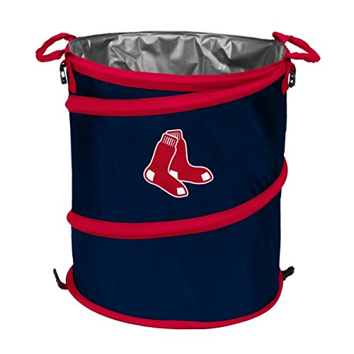 MLB Boston Red Sox Logo Collapsible 3-in-1 Cooler, Regular, Royal/Red ()