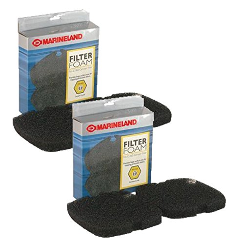 (MarineLand Filter Foam for Canister Filters, 4-Count)