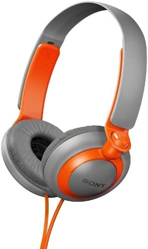 Sony MDR-XB200 D MDRXB200-Orange XB Extra Bass Series On-Ear Headphones