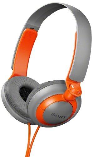 Extra Bass Series Headphones - Sony MDR-XB200/D (MDRXB200-Orange) XB Extra Bass Series On-Ear Headphones