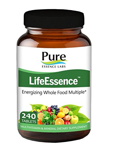 Pure Essence Labs LifeEssence - World's Most Energetic Multiple - 240 Tablets