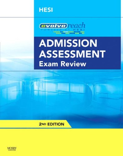 Evolve Reach Admission Assessment Exam Review   2Nd Edition