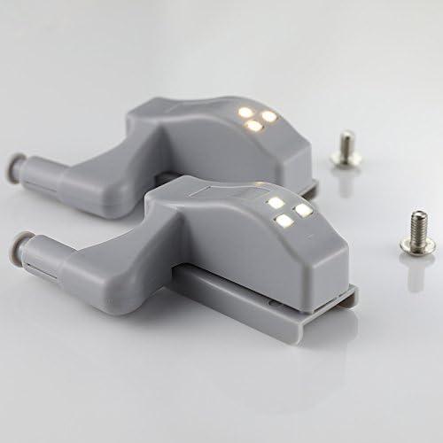 Tioodre 1PCS 0.25/W fold LED sensore di luce per cucina soggiorno camera da letto armadio armadio guardaroba luci notturne