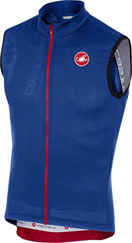 Castelli Entrata 3 Sleeveless Full-Zip Jersey - Men's Surf Blue, ()