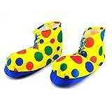 Dress Up America Polka Dot Clown Shoe Covers