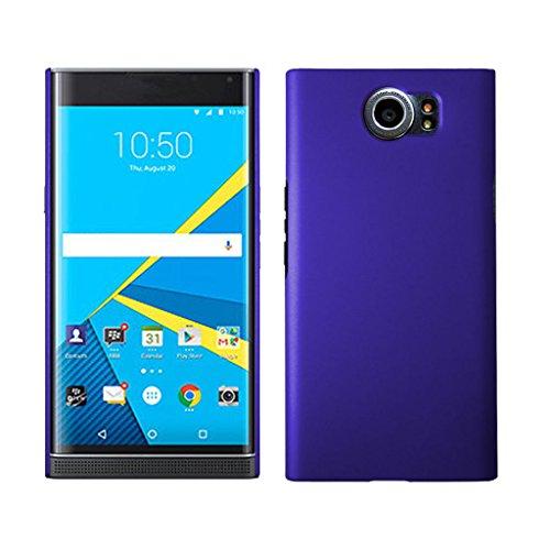 Genko Ultra Thin Hard Rubberized Matte Plastic Snap-On Cover Case For BlackBerry Priv