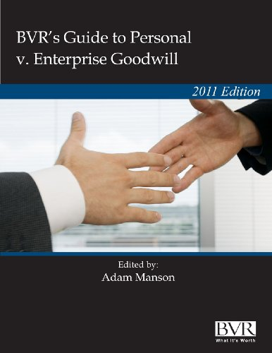 BVR's Guide to Personal v. Enterprise Goodwill-2011 Pdf