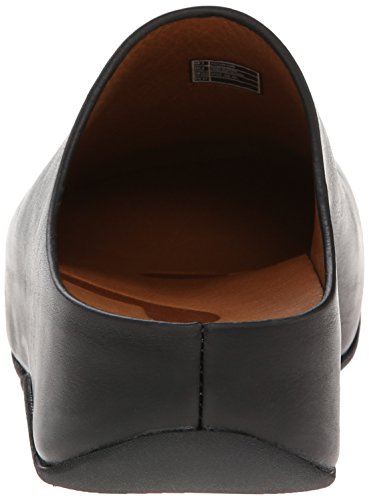 para de Shuv Tm por Leather Estar Mujer Fitflop Casa Black Zapatillas Tqf8wT1