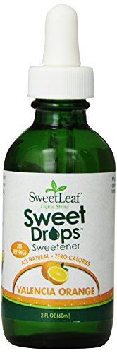 Orange Cream Flavor - SweetLeaf Sweet Drops Liquid Stevia Sweetener, Valencia Orange, 2 Ounce
