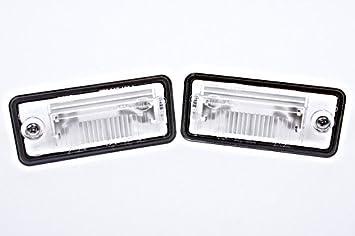 Genuine License Plate Light Lenses Pair Audi A3 A4 A5 A6 C6 A8 D3 Q7 RS4  sc 1 st  Amazon.com & Amazon.com: Genuine License Plate Light Lenses Pair Audi A3 A4 A5 A6 ...