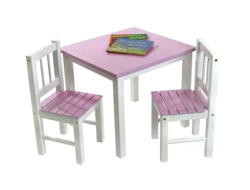 Amazon.com Lipper International 513PK Childu0027s Table and 2 Chairs Pink and White Kitchen u0026 Dining  sc 1 st  Amazon.com & Amazon.com: Lipper International 513PK Childu0027s Table and 2 Chairs ... islam-shia.org