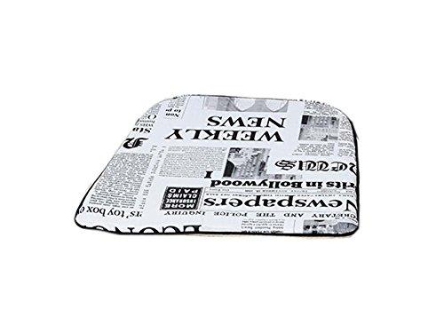 PANDA SUPERSTORE Fashion Cushion Chair Cushion British Style Pillow Cushions£¬Newspaper