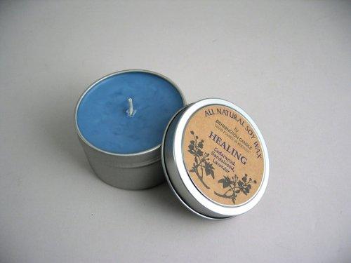 All Natural Soy Wax by Bennington Candle (Healing) - Cedarwood, Sandalwood, Lavender