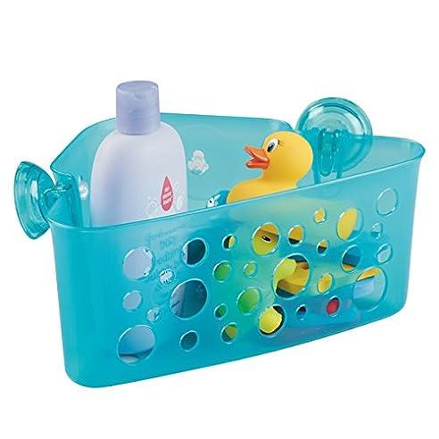 mdesign duschkorb fr kinder zum hngen die ideale duschablage fr shampoo schwmme badespielzeug - Duschzubehor Zum Hangen